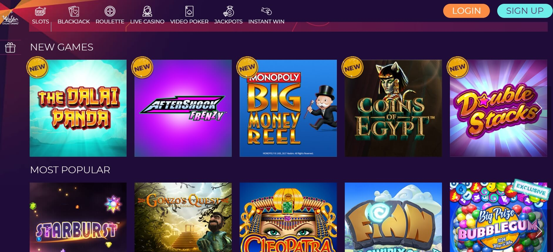 winstar casino new slot sites review
